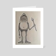 Sharkface Spirit Animal - Art Card by Alexis Allen