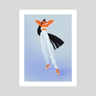Ready for my close-up - Art Print by Joana Neves