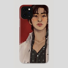 hyungwon solo1 - Phone Case by jhulie