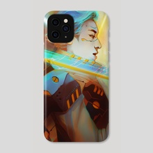 Fire Future - Phone Case by Alex D