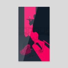 Catalepsia - Acrylic by Taychin Dunn