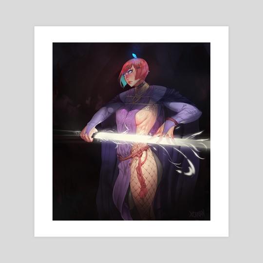 Celestial Azura by xcarbn