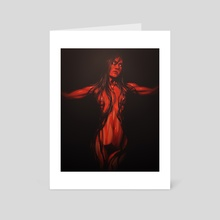 Woe to All - Art Card by Andi Bonin