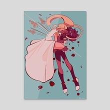 Revolutionary Girl Catra: Utena x She-ra V2 - Acrylic by Bots
