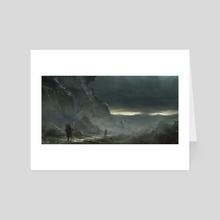 After Rain - Art Card by Sergey Averkin