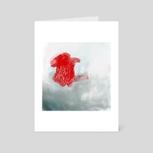 true love letter - Art Card by Lori Bartel