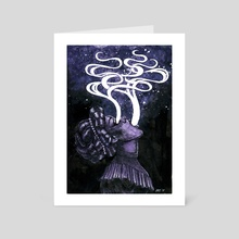 The Medium - Art Card by Esther  Coonfield