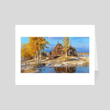 Autumn at Relay Outpost 17 - Art Card by Marek Denko