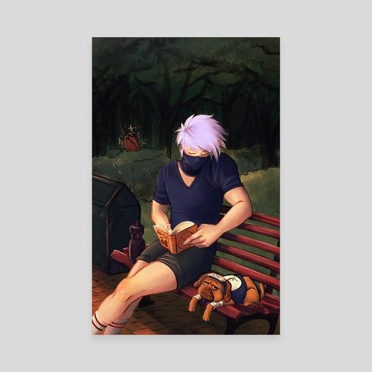 Kakashi's Leg Day by Nikita Hatmaker