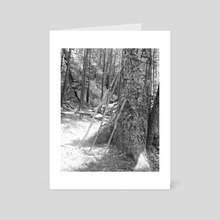 support sticks - Art Card by lindsay tripp