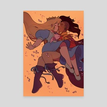 Princess Shoujo - Canvas by Katie O'Neill
