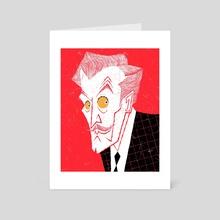 Vincent Price - Art Card by Hayden Evans