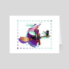 Soft Magic - Art Card by Juliana Xavier