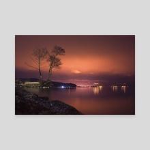 By the Lake - Canvas by Enkel Dika