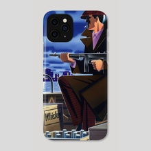 Jazz Age Gangster - Phone Case by Paul Rivoche