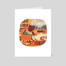 Wanderlust - Art Card by Nano Février
