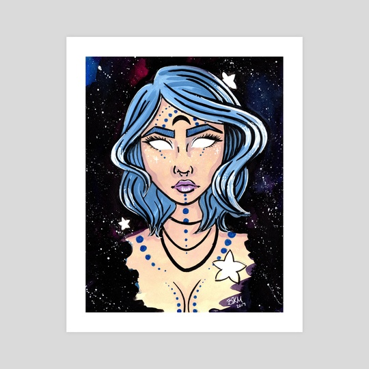 Galaxy Goddess by Brittany  Moselina