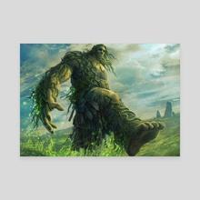 Beanstalk Giant - Canvas by Jason Engle