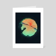 A Living Ocean - Art Card by Inky