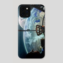 Outer space - Phone Case by mtforlife