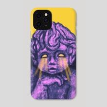 Yellow Cherub - Phone Case by Shelby Bales