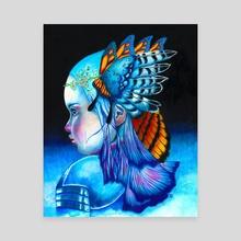 Crown Bearer - Canvas by Randy Debono