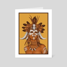Witch Doctor - Art Card by Non Vale Art