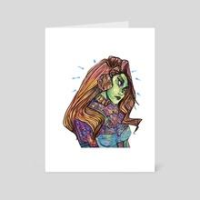 Malena - Art Card by Ana Maria