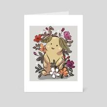 Little light spirit  - Art Card by Kay Fine