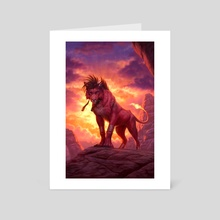 Ablaze - Art Card by Johanna Tarkela