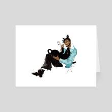 Erik Killmonger - Art Card by DG Lee