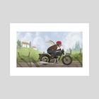 Rider - Art Print by Jez Tuya
