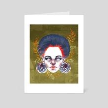 Cyrine - Art Card by Maureen Fletcher