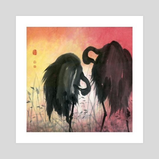 Cranes - 14 by River Han