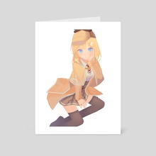 Amelia - Art Card by TR