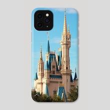 Cinderella's Castle - Phone Case by Sara M