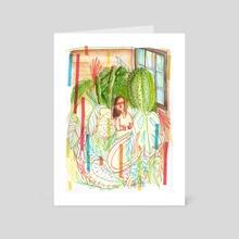 GLASSHOUSE - Art Card by Patricia Baik