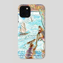 We Can Make it Through Anything - Phone Case by Sophy Mariam