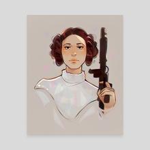 Leia 2 - Canvas by Chantal