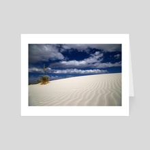 White Sands 1 - Art Card by Brian Fisher