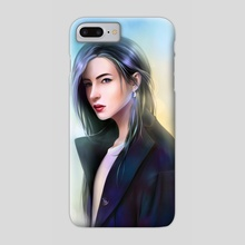 Dark Coat - Phone Case by Kei Lumo