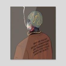 quiet - Acrylic by aye pixel