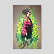 kenkyo - Acrylic by Rose Besch