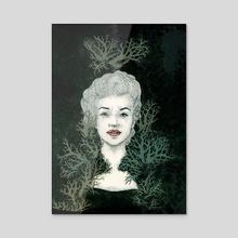 marylichen. - Acrylic by claudia chelaru