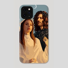 Happily married immortal couple  - Phone Case by Saint Hedge