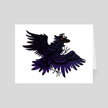 Corviknight - Art Card by Holly L