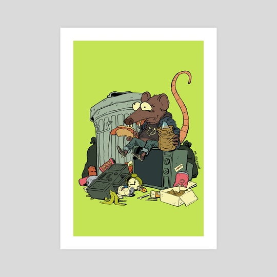 Trash Rat by M C Wolfman