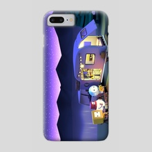Camping Night - Phone Case by clueme ain