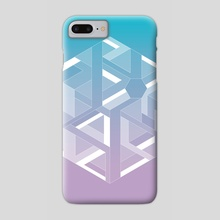Six - Phone Case by e Drawings38