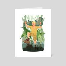 CRICKEY! - Art Card by Lasha Tamae